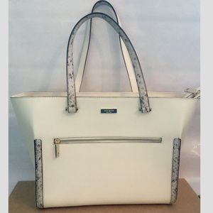 Never Used Kade Spade Structured Tote Bag